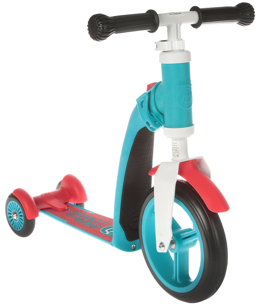 Scoot&Ride Самокат-беговел Highway Baby Plus цвет синий беговел popbike flash orange