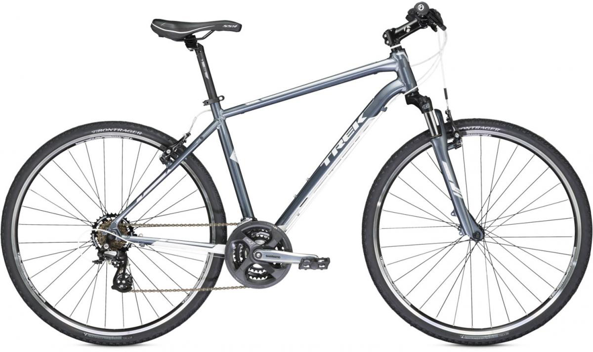 Велосипед городской Trek 8.2 DS 2014, цвет: серый, рама 19, колесо 28109857