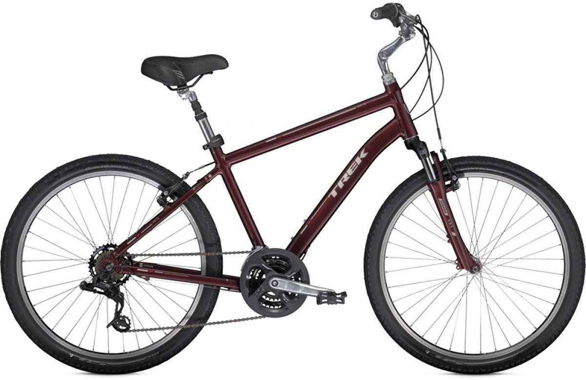 Велосипед городской Trek Shift 2 2014, цвет: красный, рама 14,5, колесо 26110001