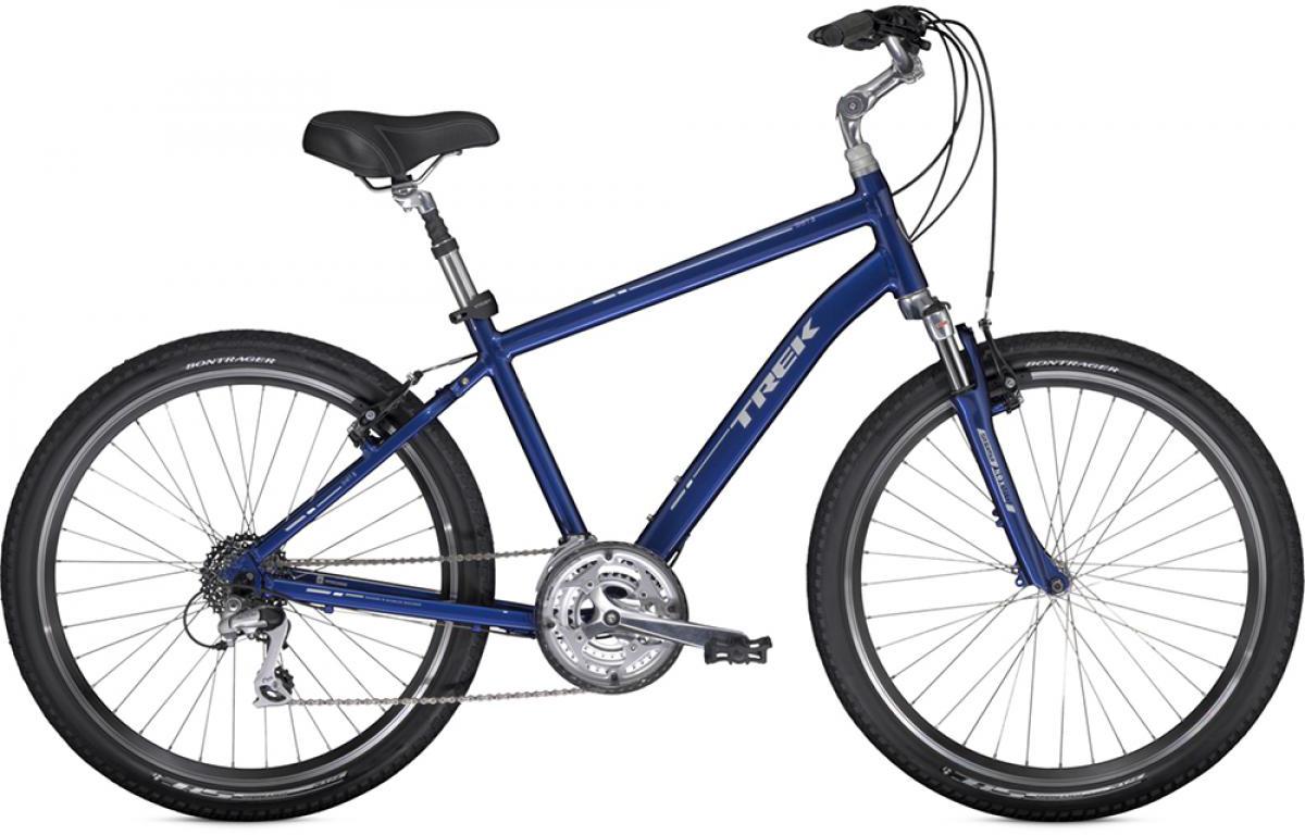 Велосипед городской Trek Shift 3 2014, цвет: красный, рама 21, колесо 26110115