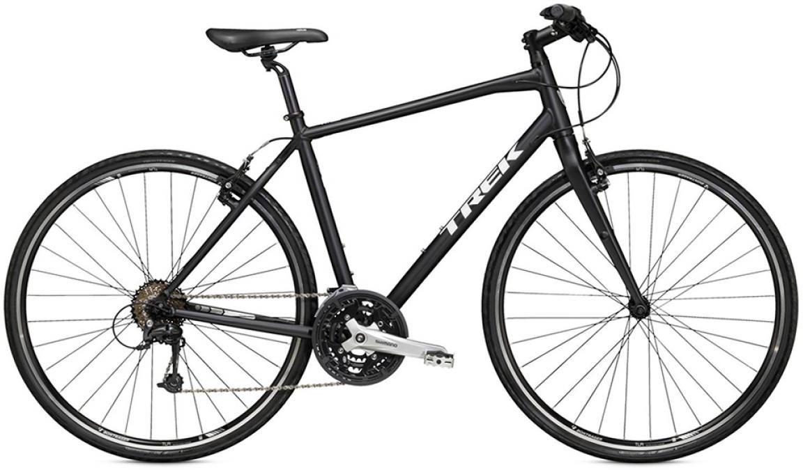Велосипед городской Trek 7.4 FX 2015, цвет: черный, рама 17,5, колесо 28209751