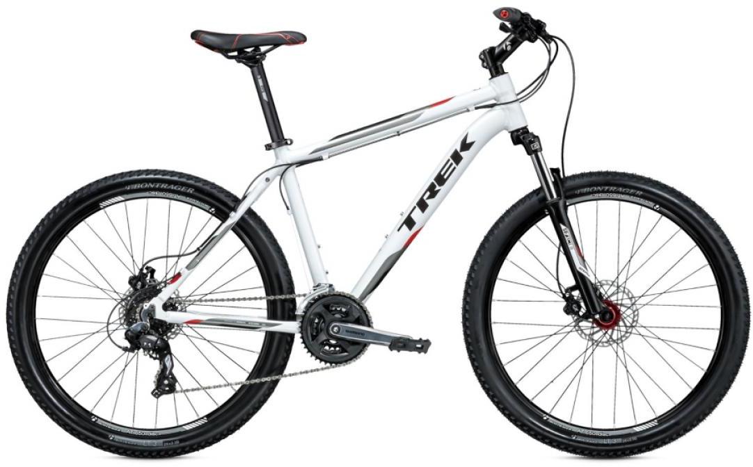 Велосипед горный Trek 3700 D 2015, цвет: белый, рама 21, колесо 26242734