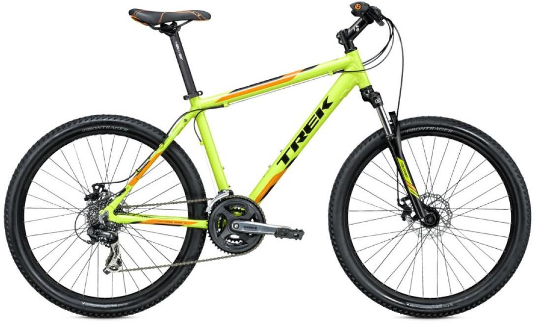 Велосипед горный Trek 3500 D 2015, цвет: зеленый, рама 13,5, колесо 26244936