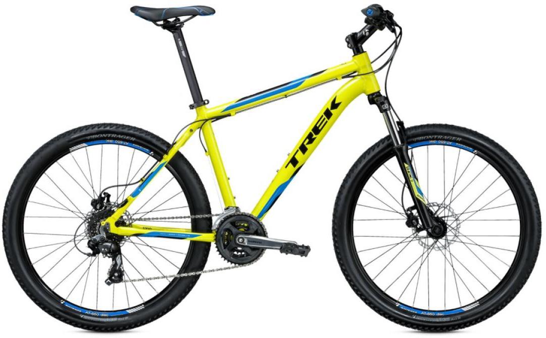 Велосипед горный Trek 3700 D 2015, цвет: желтый, рама 22,5, колесо 26244952