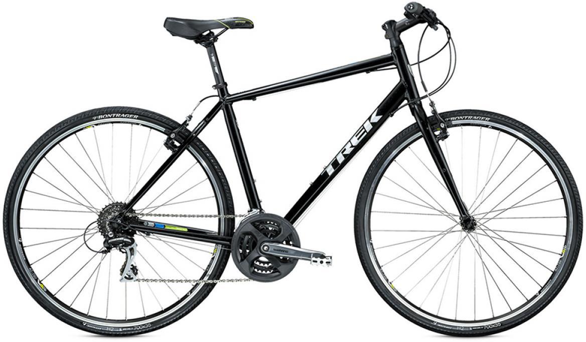 Велосипед городской Trek 7.2 FX 2015, цвет: синий, рама 17,5, колесо 28245003