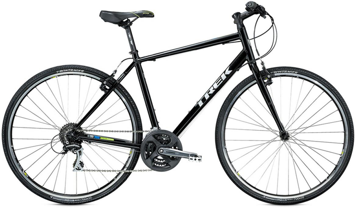 Велосипед городской Trek 7.2 FX 2015, цвет: красный, рама 15, колесо 28245007