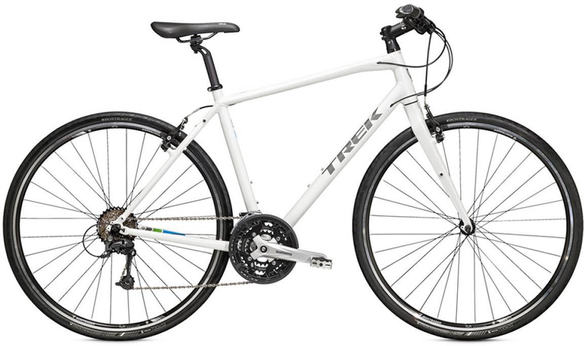 Велосипед городской Trek 7.4 FX 2015, цвет: зеленый, рама 25, колесо 28245111
