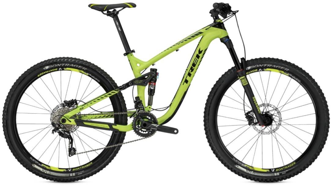 Велосипед горный Trek Remedy 7 2015, двухподвесный, цвет: зеленый, рама 19,5, колесо 27,5245162