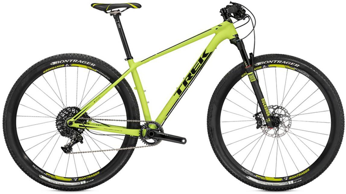 Велосипед горный Trek Superfly 9 2015, цвет: зеленый, рама 23, колесо 29245356