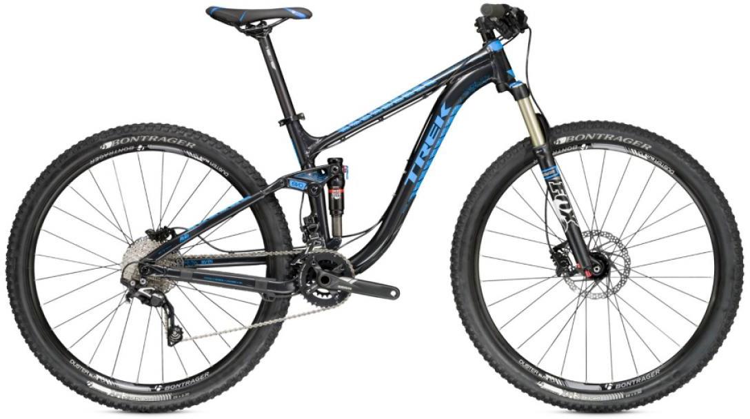 Велосипед горный Trek Fuel EX 7 2015, двухподвесный, цвет: черный, рама 18,5, колесо 29245571