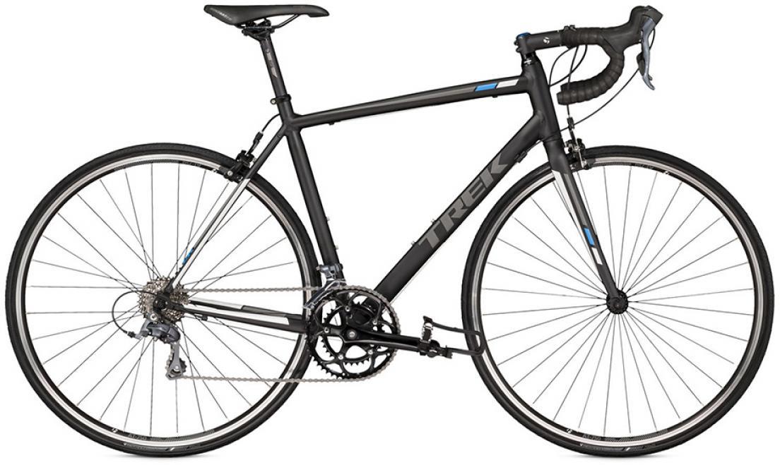 Велосипед шоссейный Trek 1.1 C H2 2016, цвет: черный, рама 20,5, колесо 28258140