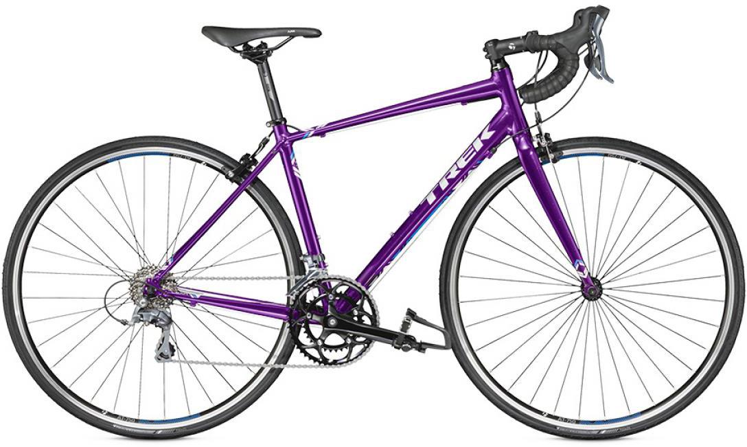 Велосипед женский Trek Lexa C 2016, цвет: фиолетовый, рама 18,5, колесо 28258276