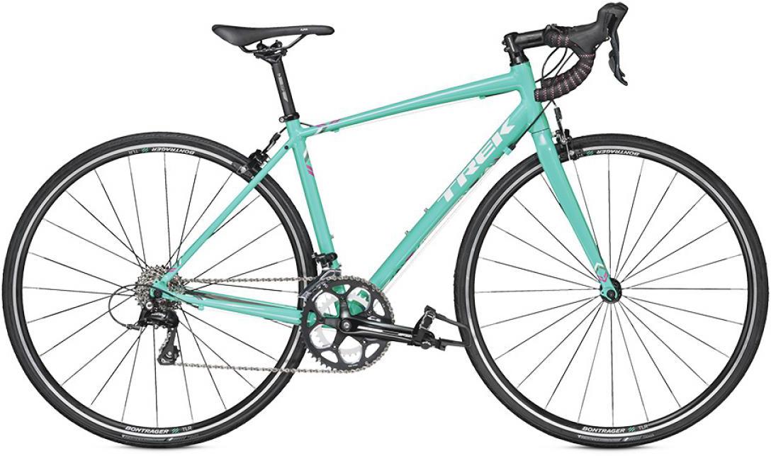 Велосипед женский Trek Lexa S C 2016, цвет: зеленый, рама 20, колесо 28258284
