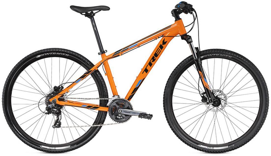 Велосипед горный Trek Marlin 6 2016, цвет: оранжевый, рама 18,5, колесо 29258354
