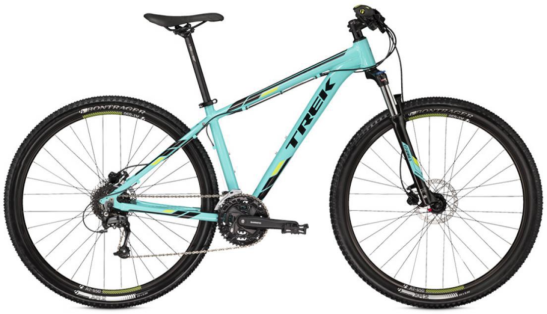 Велосипед горный Trek Marlin 7 2016, цвет: зеленый, рама 13,5, колесо 27,5258378