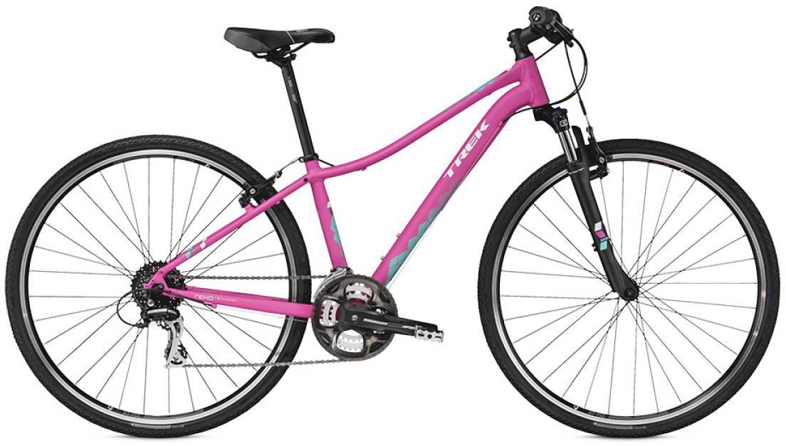 Велосипед женский Trek Neko S WSD 2016, цвет: розовый, рама 16, колесо 28258436