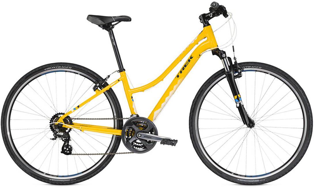 Велосипед женский Trek Neko WSD 2016, цвет: желтый, рама 18L, колесо 28258452