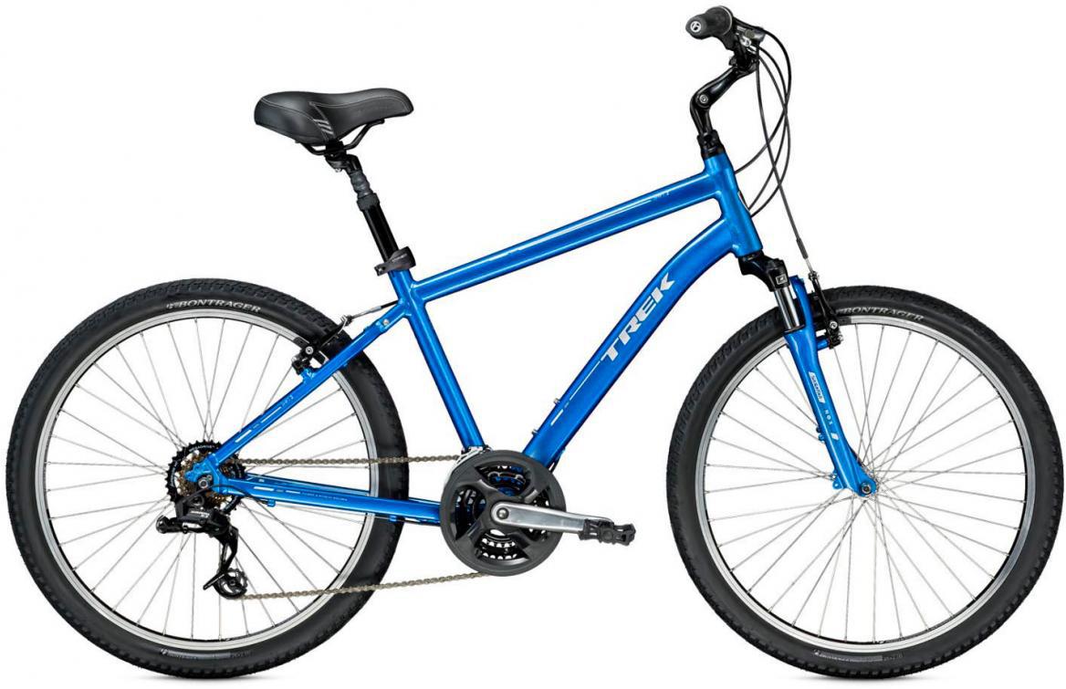 Велосипед городской Trek Shift 2 2016, цвет: синий, рама 18,5, колесо 26265864