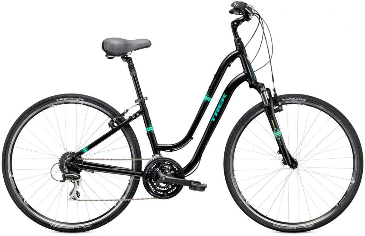 Велосипед женский Trek Verve 3 WSD 2016, цвет: черный, рама 19, колесо 28265942