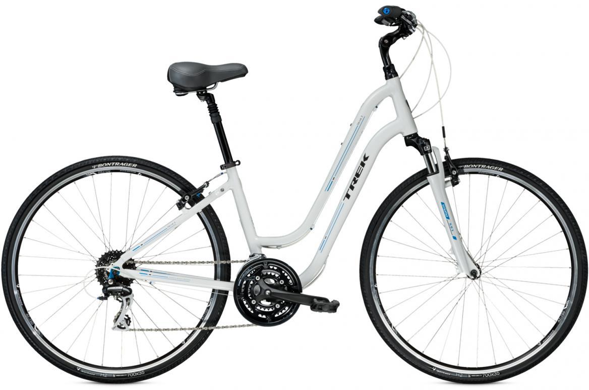 Велосипед женский Trek Verve 3 WSD 2016, цвет: белый, рама 16, колесо 28265946