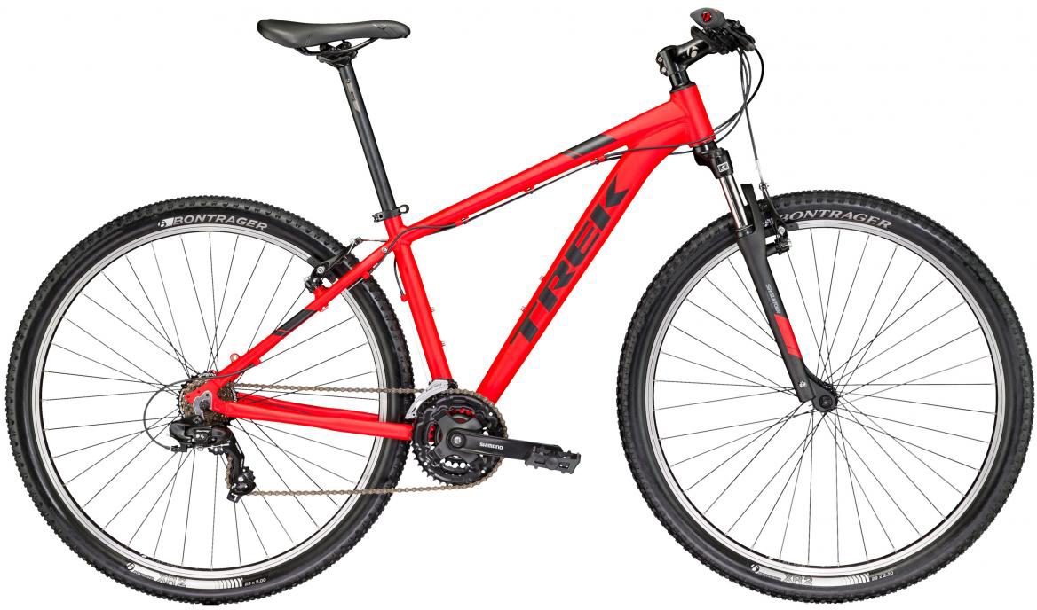 Велосипед горный Trek Marlin 4 2017, цвет: красный, рама 19,5, колесо 29268594