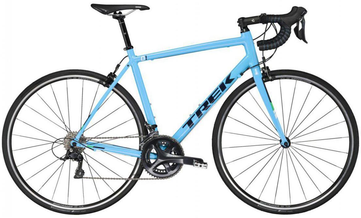 Велосипед шоссейный Trek 1.2 C H2 2017, цвет: голубой, рама 18,5, колесо 28272358