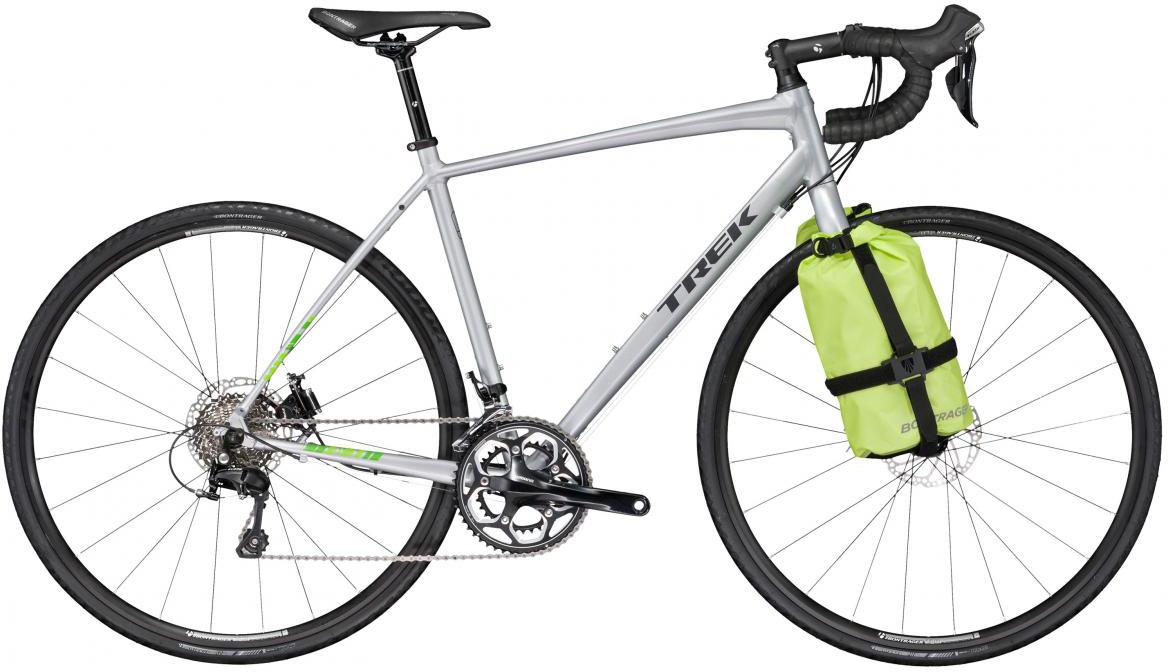 Велосипед шоссейный Trek 720 (2017), цвет: серый, рама 23, колесо 28272370