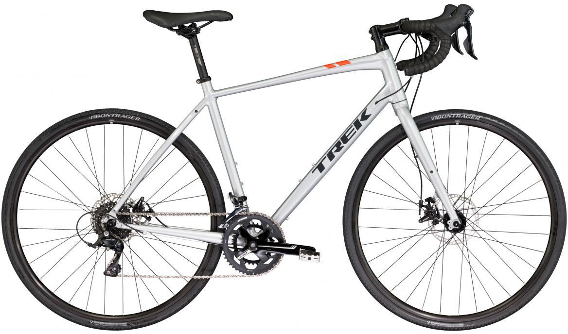 Велосипед шоссейный Trek CrossRip 1 2017, цвет: серый, рама 22, колесо 28272385