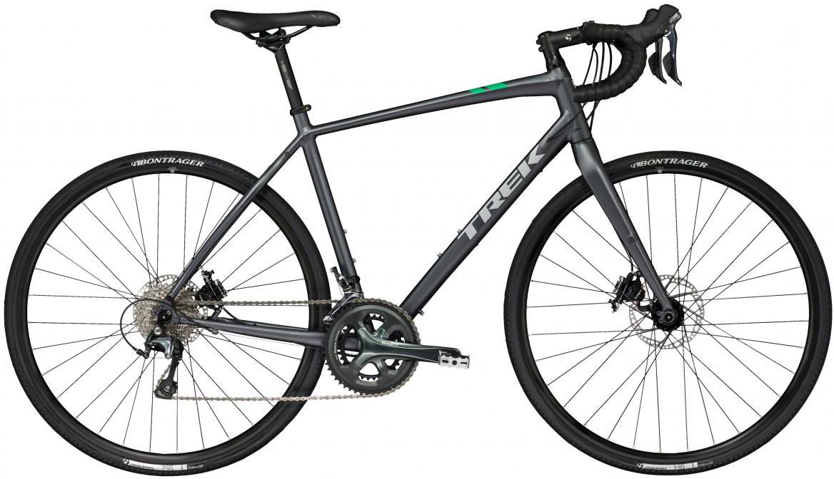 Велосипед шоссейный Trek CrossRip 2 2017, цвет: серый, рама 22, колесо 28272391