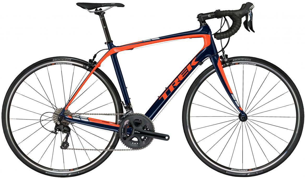 Велосипед шоссейный Trek Domane S 5 2017, цвет: синий, рама 20,5, колесо 28272415