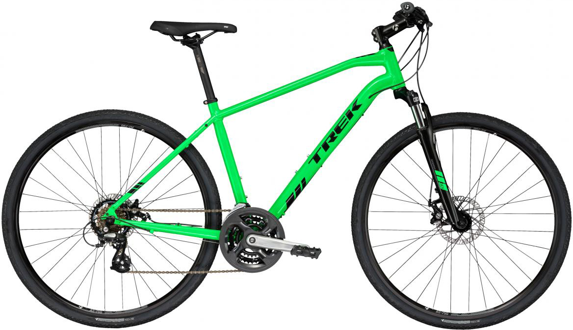 Велосипед городской Trek DS 1 2017, цвет: зеленый, рама 21, колесо 28272443