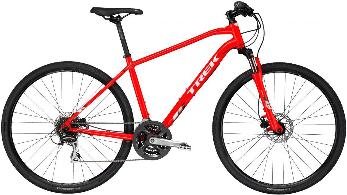 Велосипед городской Trek DS 2 2017, цвет: красный, рама 21, колесо 28272453