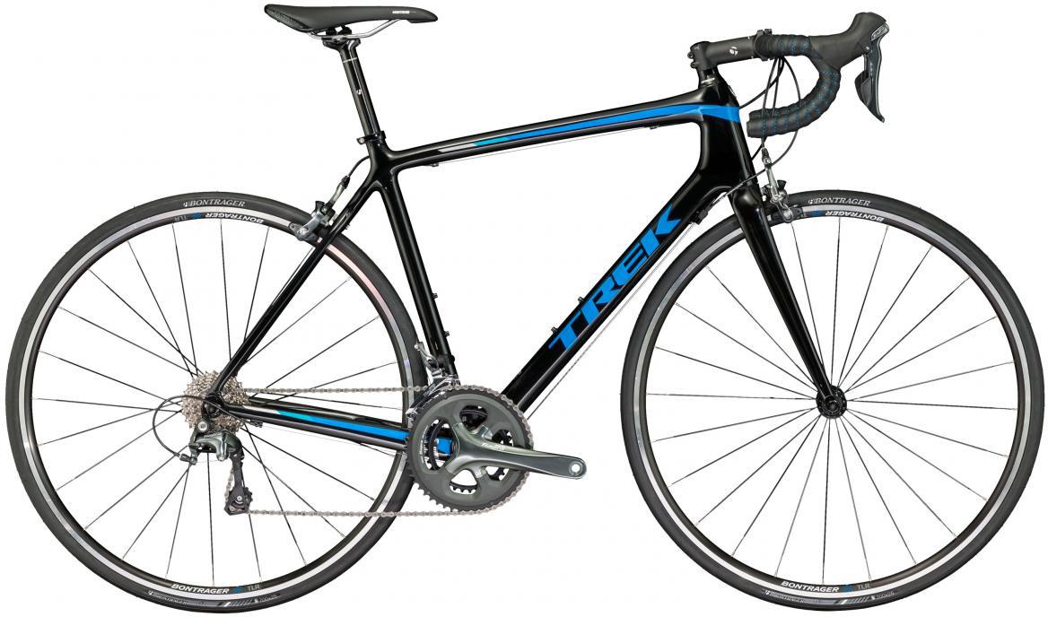 Велосипед шоссейный Trek Emonda S 4 2017, цвет: синий, рама 21,5, колесо 28272504