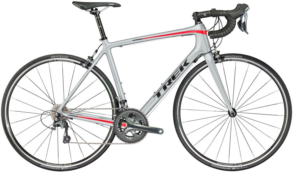 Велосипед шоссейный Trek Emonda S 4 2017, цвет: серый, рама 20,5, колесо 28272512