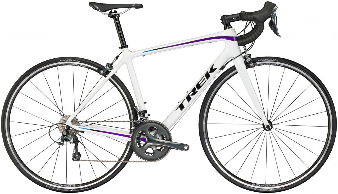 Велосипед шоссейный Trek Emonda S 4 WSD 2017, цвет: белый, рама 19,5, колесо 28272520