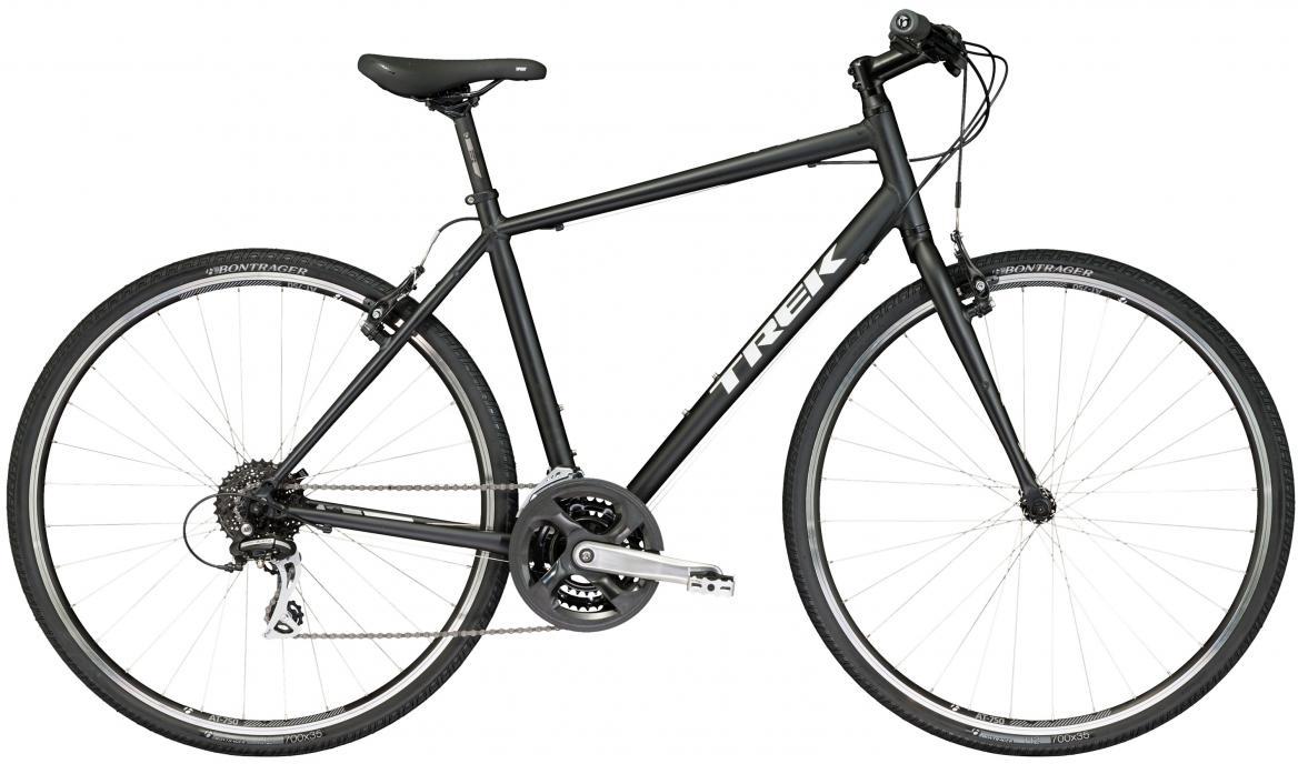 Велосипед городской Trek FX 2 2017, цвет: черный, рама 25, колесо 28272577