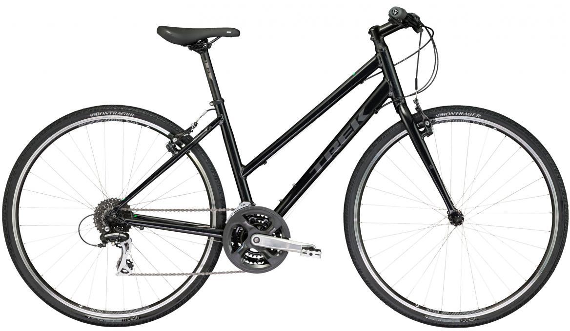Велосипед городской Trek FX 2 WSD 2017, цвет: черный, рама 15, колесо 28272680