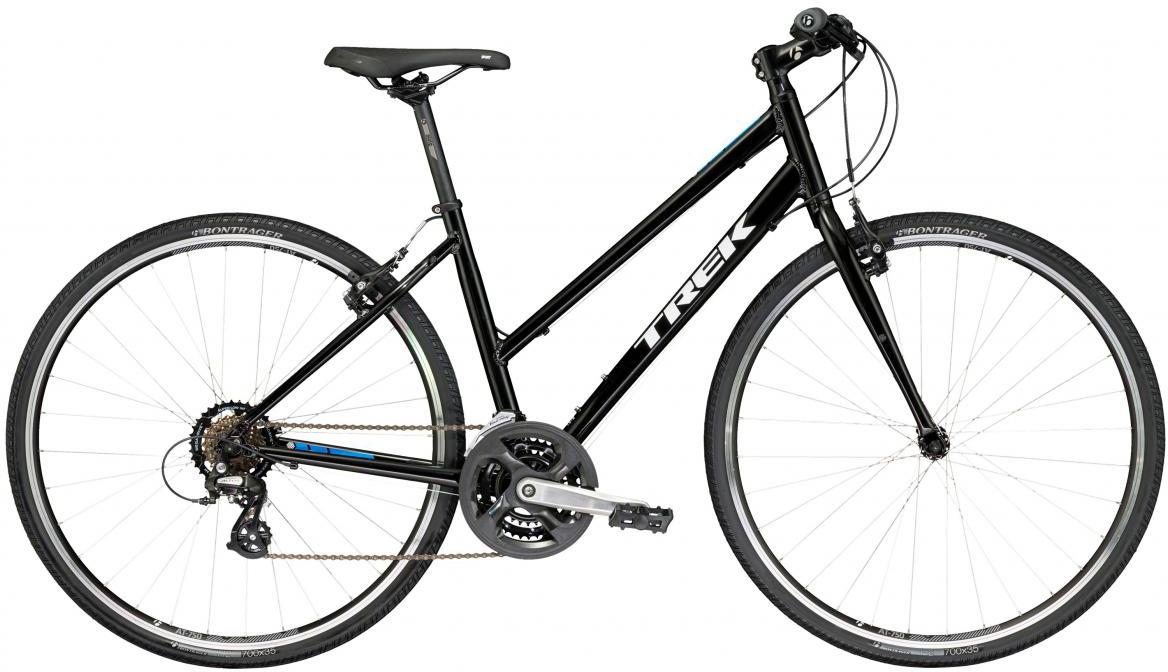 Велосипед городской Trek FX 1 Stagger 2017, цвет: черный, рама 15, колесо 28273253