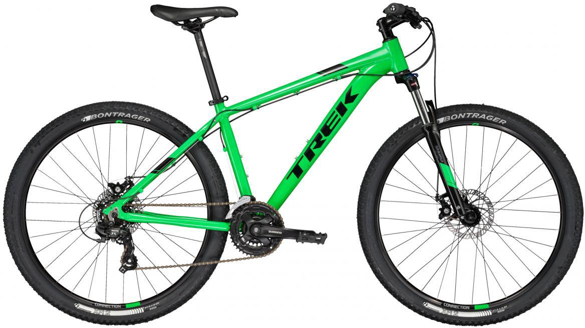 Велосипед горный Trek Marlin 5 2017, цвет: зеленый, рама 13,5, колесо 27,5273343