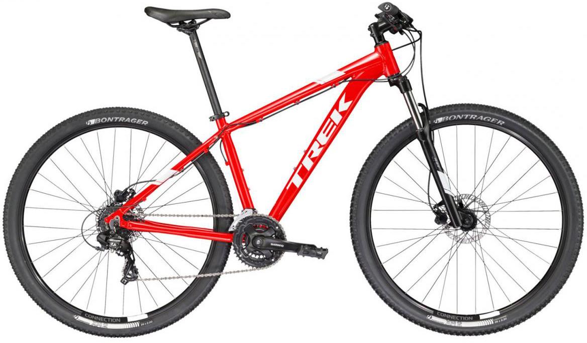 Велосипед горный Trek Marlin 6 2017, цвет: красный, рама 18,5, колесо 29273366