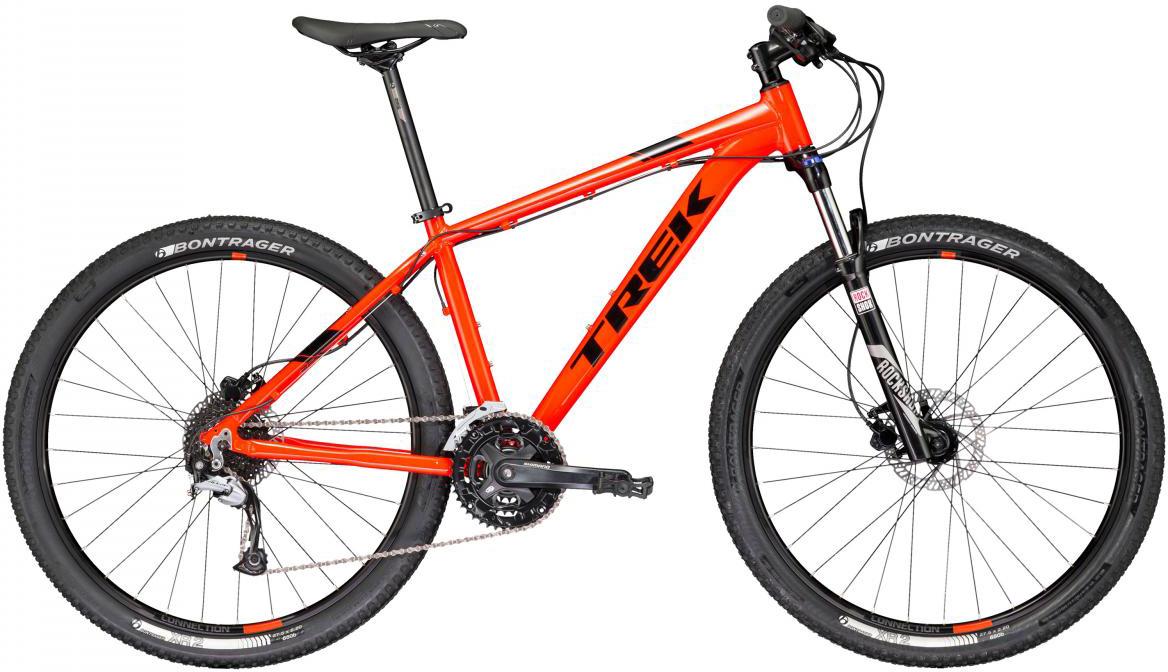 Велосипед горный Trek Marlin 7 2017, цвет: оранжевый, рама 17,5, колесо 29273393