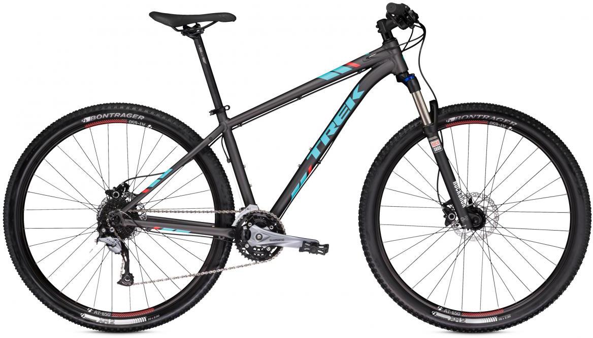 Велосипед горный Trek X-Caliber 7 2017, цвет: черный, рама 15,5, колесо 27,5273816