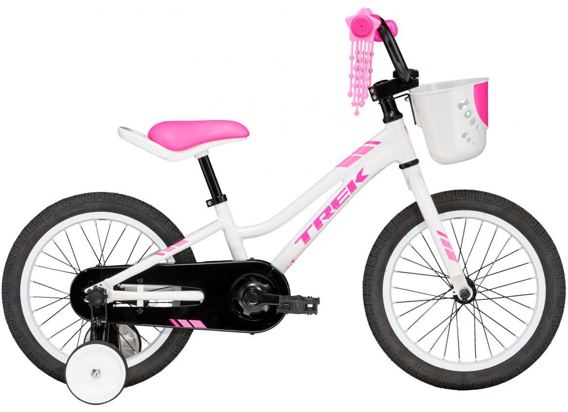Велосипед детский Trek Precaliber Girls 2017, цвет: белый, колесо 16273868