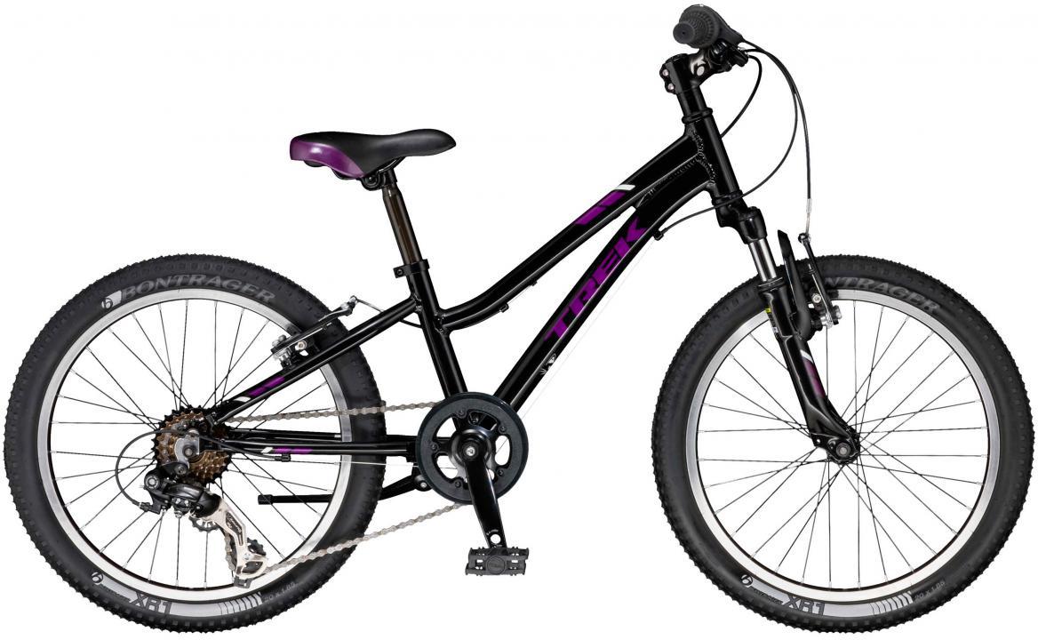 Велосипед детский Trek PreCaliber Girls 2017, цвет: черный, колесо 20281289