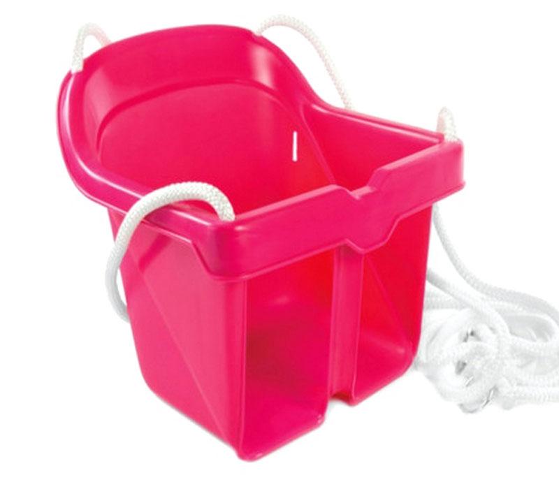 Zebratoys Качели цельные цвет розовый