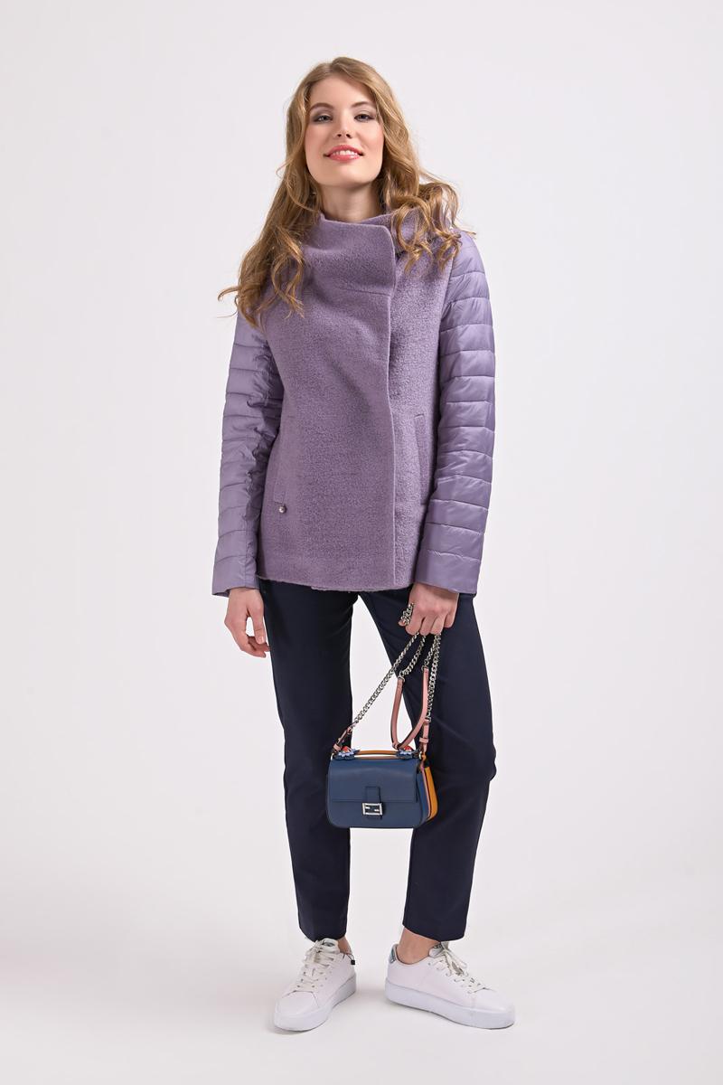 Куртка женская Elfina, цвет: фиолетовый. 18016_18. Размер 5218016_18