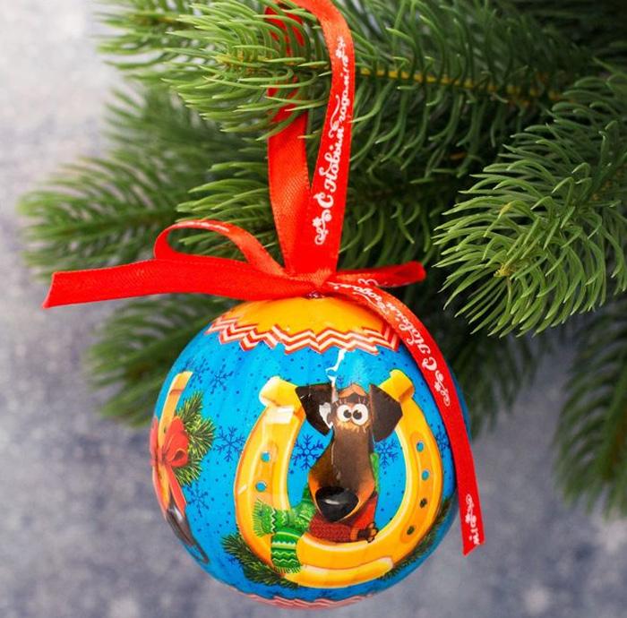 Украшение новогоднее подвесное Sima-land Приношу удачу, высота 8 см1961213