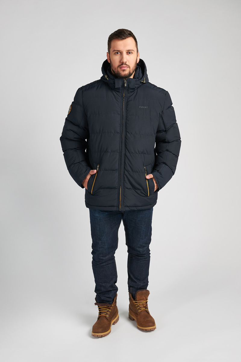 Куртка мужская Vizani, цвет: синий. V-17031NP_99. Размер 54V-17031NP_99