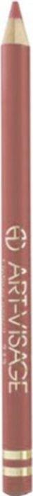 Art-Visage Карандаш контурный для губ / Lipliner pencil, т. 203, 1,3 г641765Создает идеальный контур губ. Бережно ухаживает за нежной кожей весь день.В состав карандаша входят натуральные компоненты, которые способствуют сохранению красоты и молодости ваших губ:• Экстракт алоэ оказывает тонизирующее и бактерицидное действие;• масло жожоба смягчает и питает кожу;• витамин Е помогает сохранить молодость кожи;• натуральные тугоплавкие воски обеспечивают повышенную стойкость карандаша в течение дня.
