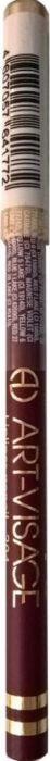 Art-Visage Карандаш контурный для губ / Lipliner pencil, т. 204, 1,3 г641772Создает идеальный контур губ. Бережно ухаживает за нежной кожей весь день. В состав карандаша входят натуральные компоненты, которые способствуют сохранению красоты и молодости ваших губ: • Экстракт алоэ оказывает тонизирующее и бактерицидное действие; • масло жожоба смягчает и питает кожу; • витамин Е помогает сохранить молодость кожи; • натуральные тугоплавкие воски обеспечивают повышенную стойкость карандаша в течение дня.